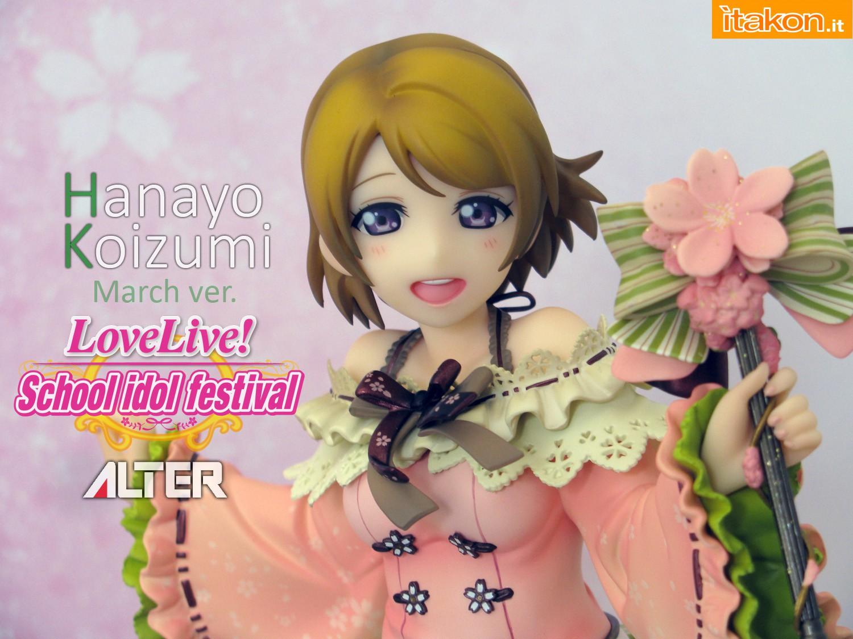 Link a 000 Hanayo Koizkumi March Love Live ALTER recensione