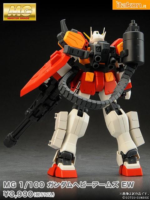 1/100 MG Gundam HeavyArms EW