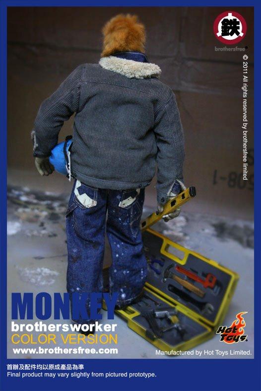 Hot Toys presenta la figura Monkey