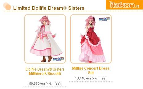 dollfie dream sister volks biscotti dress - itakon.it