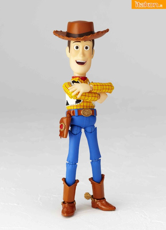 """Woody da """"Toy Story"""" - Revoltech Pixar Collection vol. 005"""