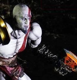 kratos - god of war 3 - play arts kai