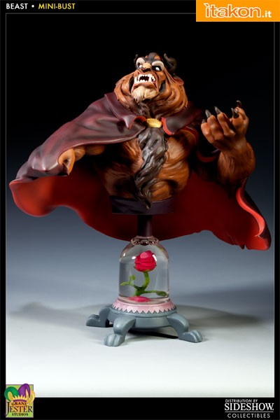 Enesco: Beauty and the Beast Polystone Bust - Beast