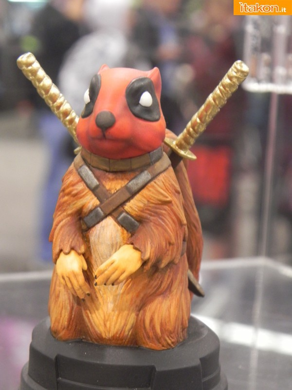 Gentle Giant: Squirrepool SDCC Exclusive Mini Bust