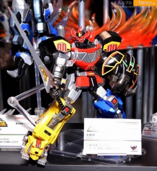 Tamashii Features Vol.3: S.R.C.: Daizyujin. Data uscita: Settembre 2012 / Prezzo: 5040 yen