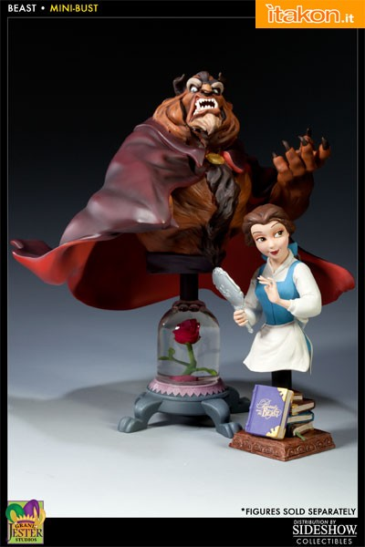 Enesco: Beauty and the Beast Polystone Bust - Beast