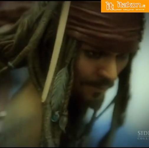 Sideshow: Production Peek: Jack Sparrow Pirate of Caribbean on Stranger Tides - Premium Format