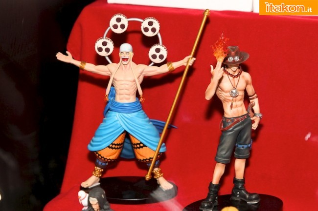 Link a Figure Colosseum Eneru god enel Portgas D. Ace
