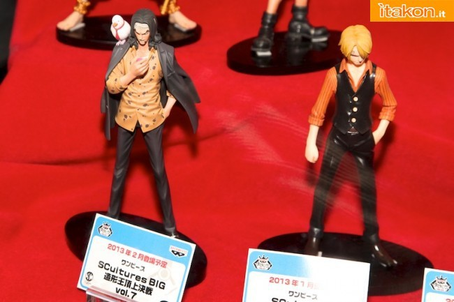 Figure Colosseum Rob lucci Sanji