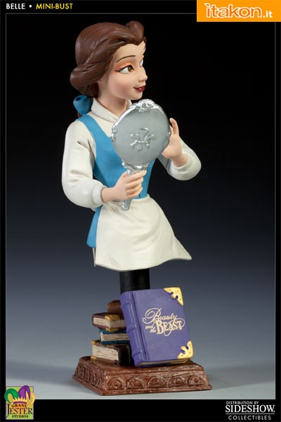 Enesco: Beauty and the Beast Polystone Bust - Belle