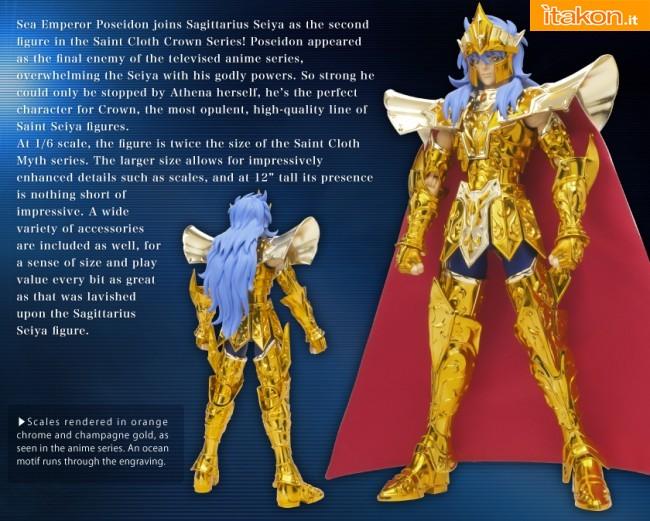Link a Saint Cloth Crown – Sea Emperor Poseidon