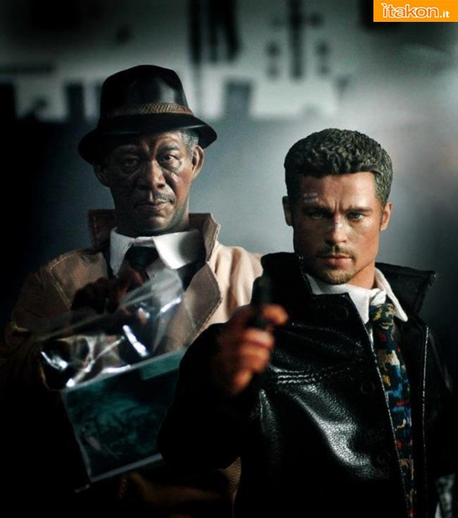 IMINIME SCULPT TEAM: Se7en: Detective David Mills & Detective Lt. William Somerset