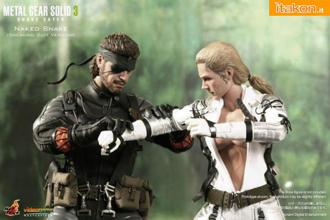 Hot Toys: Metal Gear Solid 3 Snake Eater - Naked Snake (Sneaking Suit Version) - Immagini Ufficiali