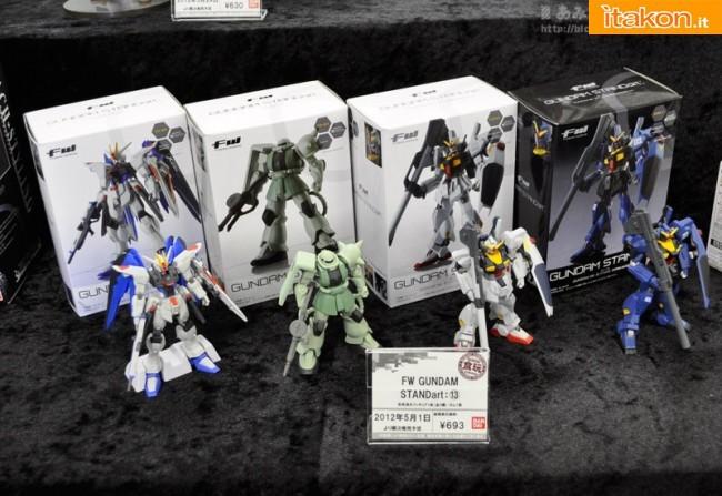 Miyazawa Models Spring Exhibition 2012: Bandai: FW Gundam STANDart Vol.13