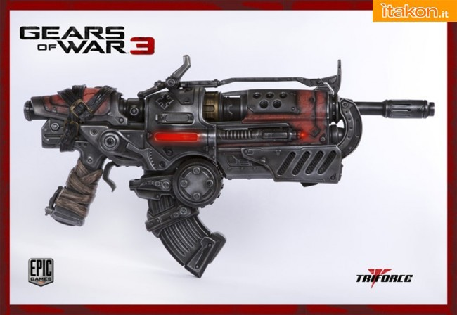 TriForce: Locust Hammerburst II Full Scale Replica - In preordine