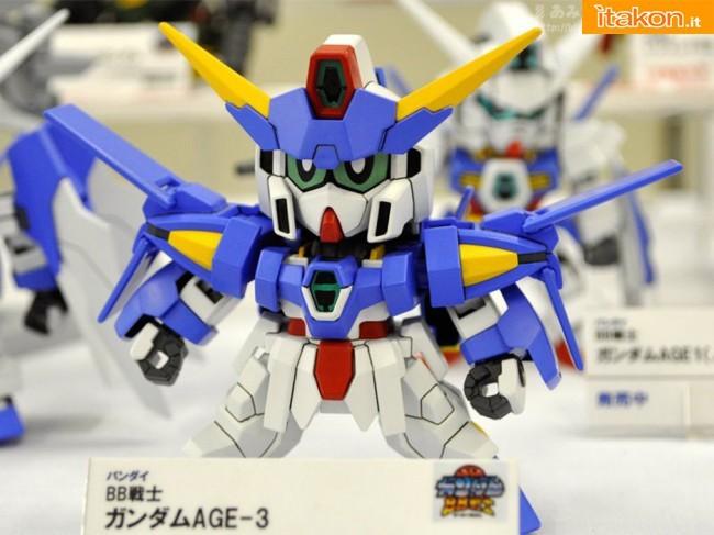 Miyazawa Models Spring Exhibition 2012: Bandai: BB Senshi Gundam AGE-2 (Release Date May 2012, Price 1000 yen)