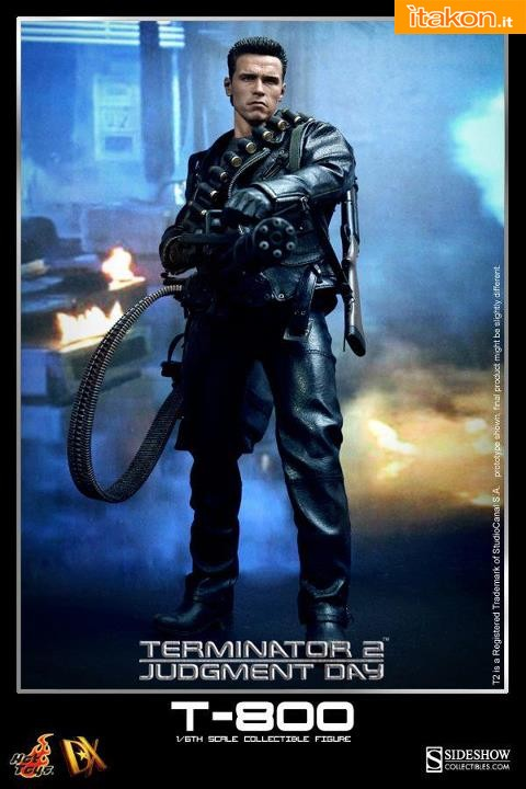 Hot Toys: DX10 - Terminator 2: Judgment Day: T-800 Collectible Figure 1/6
