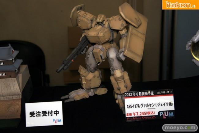 Miyazawa Models Spring Exhibition 2012: Plum Assault Suits Valken ASS-117A Valken (Jake Type) (Plastic model). Data uscita: Giugno 2012, Prezzo 7245 yen