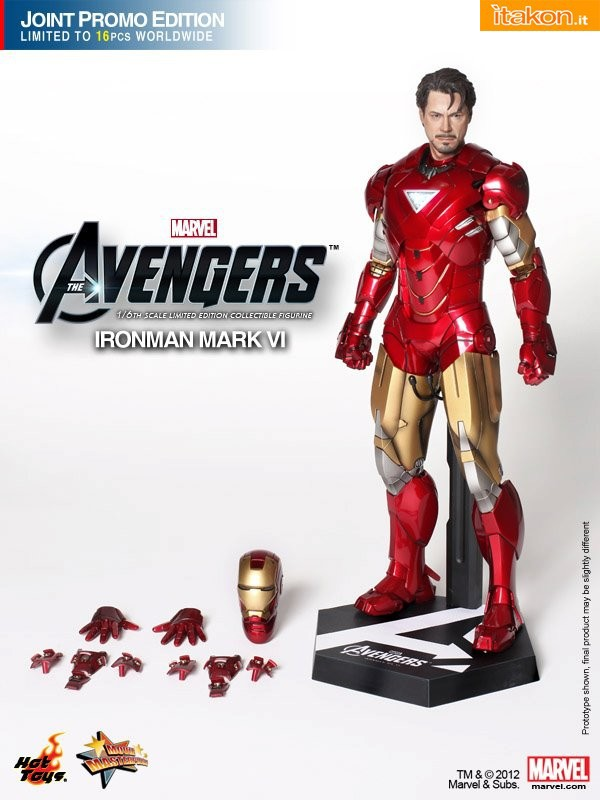 Hot Toys: Iron Man mark VI Joint Promo Edition 1/6