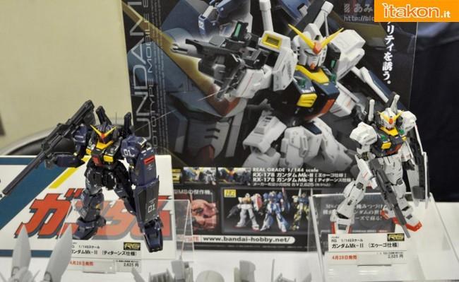 Miyazawa Models Spring Exhibition 2012: Bandai: RG 1/144 Gundam Mk-II Titan GG INFINITE e RG 1/144 Gundam Mk-II A.E.U.G. GG INFINITE