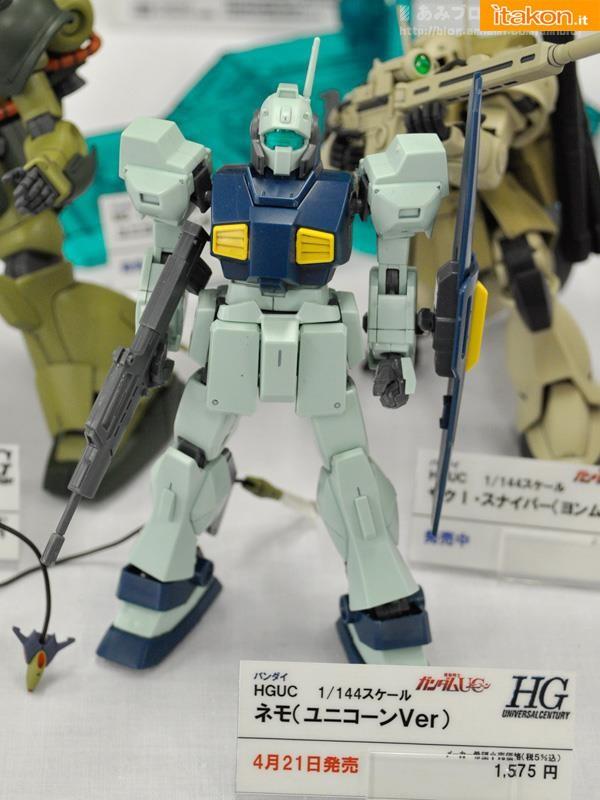 Miyazawa Models Spring Exhibition 2012: Bandai: HGUC 1/144 MSA-003 Nemo [UC Ver.] (Release Date Apr. 2012, Price 1575 yen)