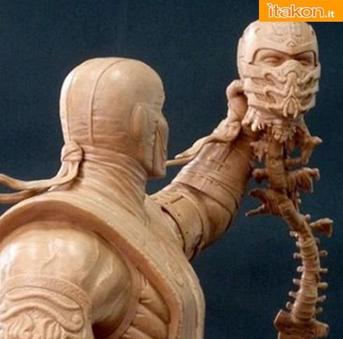 """Syco Collectibles: Sub-Zero Vs. Scorpion 18"""" Premium Format Statue - Anteprima"""