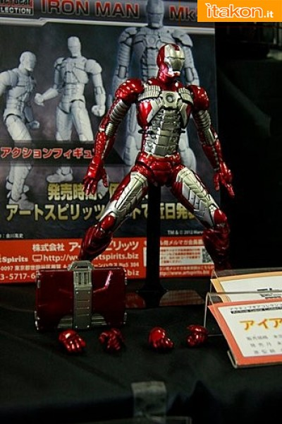 Miyazawa Models Spring Exhibition 2012: Art Spirits: Active Gear Collection Iron Man Mark V