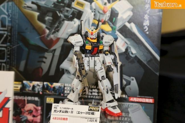 Miyazawa Models Spring Exhibition 2012: Bandai: Miyazawa Models Spring Exhibition 2012: Bandai: RG 1/144 Gundam Mk-II Titan GG INFINITE e RG 1/144 Gundam Mk-II A.E.U.G. GG INFINITE