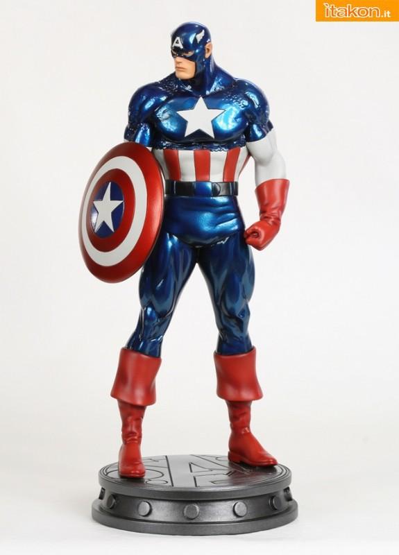 Bowen Designs: Captain America Avengers e Faux Bronze Beta Ray Bill statue - WEBSITE EXCLUSIVE