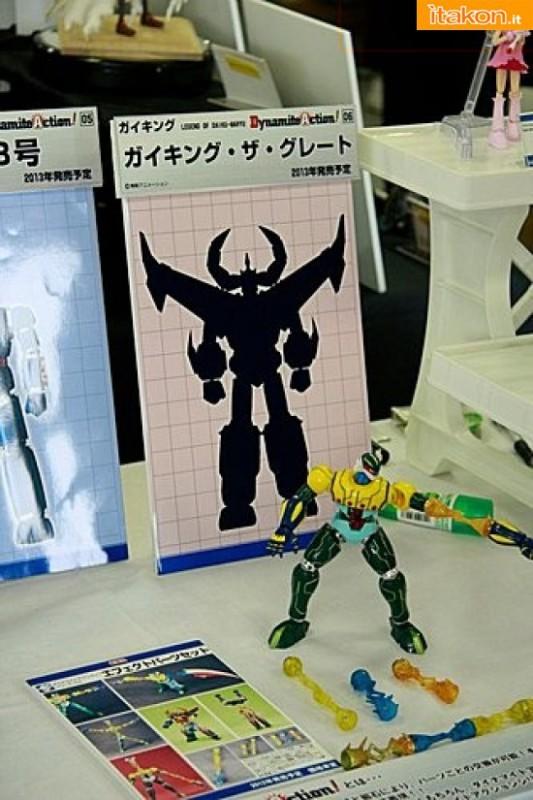Miyazawa Models Spring Exhibition 2012: Evolution Toy Kōtetsu Jeeg + Effect part