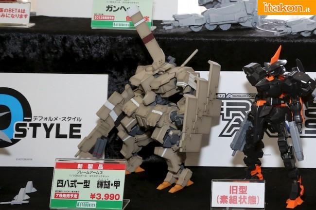 Miyazawa Models Spring Exhibition 2012: Kotobukiya: Frame Arms - 48-1 Kagutsuchi Kou (Plastic model) - 1/100