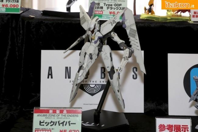 Miyazawa Models Spring Exhibition 2012: Kotobukiya: Anubis Zone of the Enders - Vic viper (Plastic model)