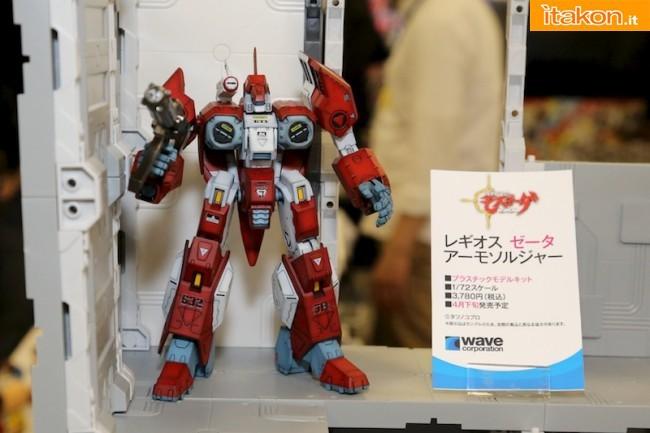 Miyazawa Models Spring Exhibition 2012: Wave Corporation: 172 Legioss (Armo-Soldier Mode) Model Kit