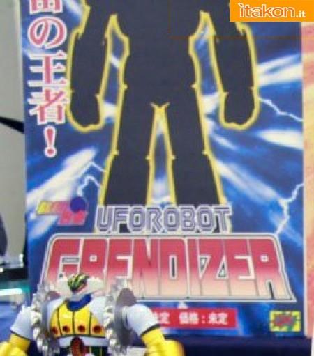 Miyazawa Models Spring Exhibition 2012: CM'S Brave Gokin UFO Robot Grendizer