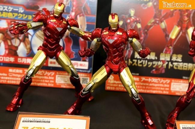 Miyazawa Models Spring Exhibition 2012: Art Spirits: Active Gear Collection Iron Man Mark VI