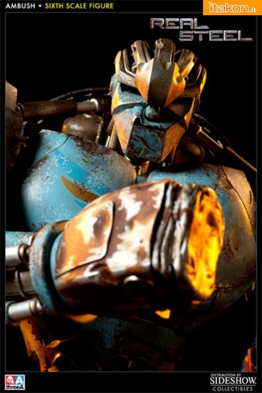ThreeA Toys: REAL STEEL: Ambush 1/6 Figure - Foto Ufficiali e Info Preordini
