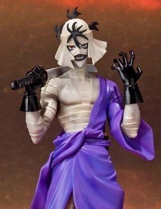 shishio makoto kenshin samurai vagabondo bandai figuarts zero
