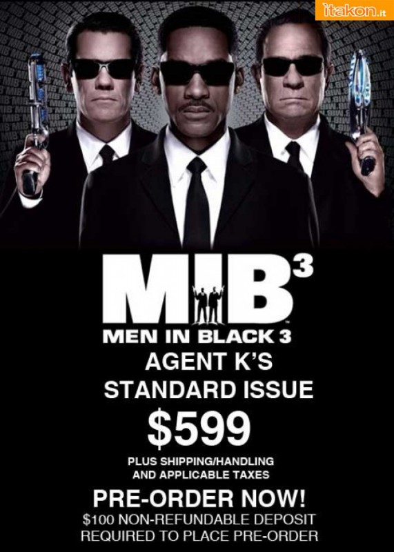 eFX Collectibles: MIB 3 Agent K Standard Issue 1:1 Prop Replica