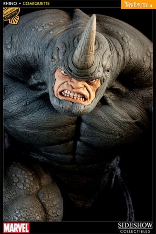 Sideshow: Marvel : Rhino Comiquette - Foto Ufficiali e Info Preordini