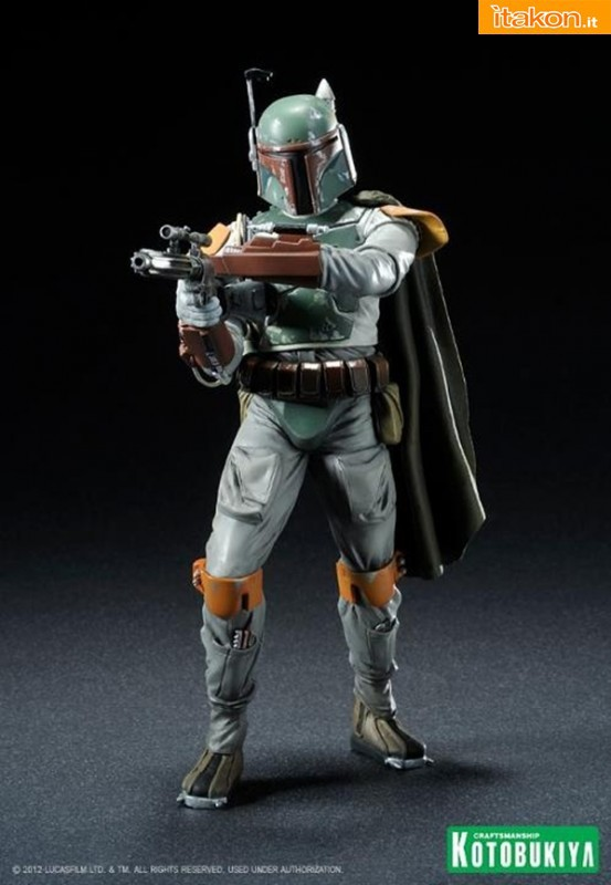Kotobukiya: Star Wars: Boba Fett Return of the Jedi ARTFX+ statue - Immagini Ufficiali