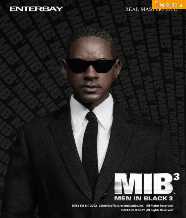 Enterbay: nuove immagini di MIB - Men in Black Real Masterpiece 1:6