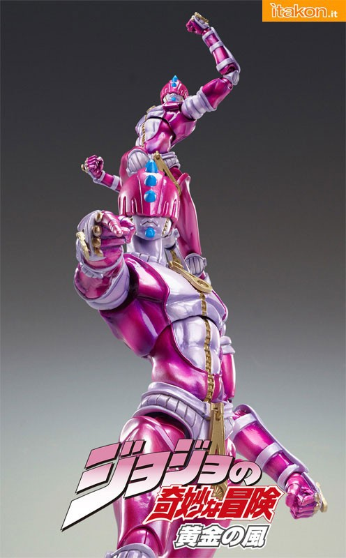 sticky finger sas super action statue medicos jojo bizzarre avventure