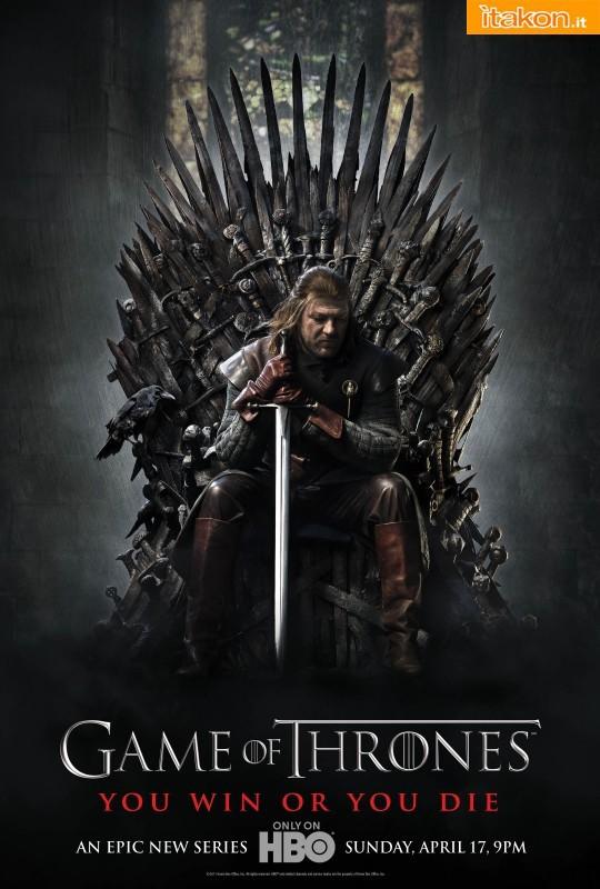 Locandina della serie televisiva Game Of Thrones