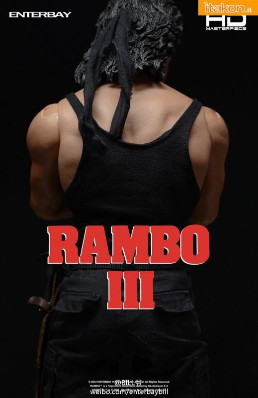 Enterbay: HD MASTERPIECE - Rambo III 1/4 - Imagini Ufficiali