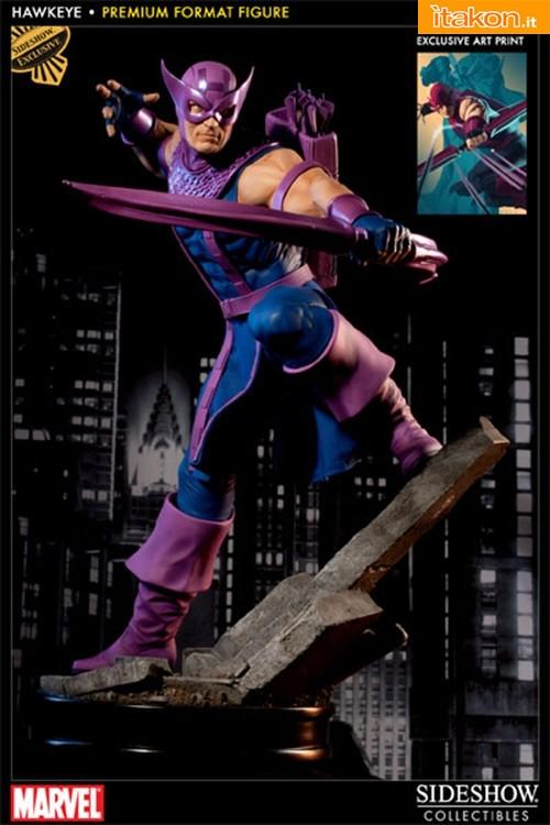 Sideshow: Hawkeye Premium Format Figure - In Preordine