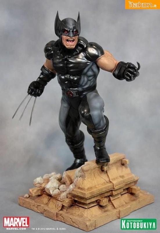 Kotobukiya: Marvel Comics X-Force Wolverine Fine Art Statue - Anteprima