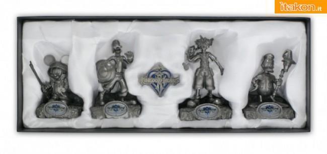 SDCC 2012: In esclusiva le statuine di Topolino, Sora, Pippo e Paperino
