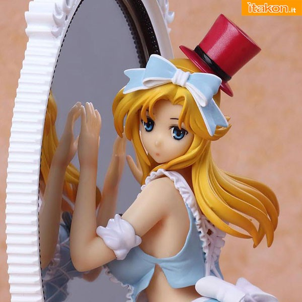 Alice in Mirror World Lechery blue dress fairy tale figure kaitendo