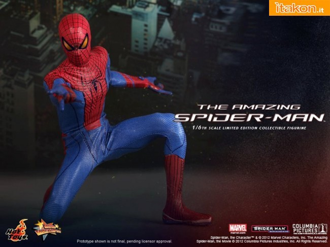 Hot Toys The Amazing Spider-man