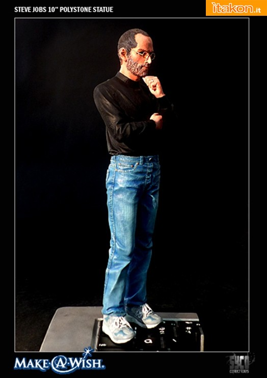 """Syco collectibles: Steve Jobs Commemorative 10"""" Polystone Statue"""